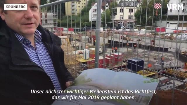 Neubau des Konzertsaals der Kronberg Academy schreitet voran