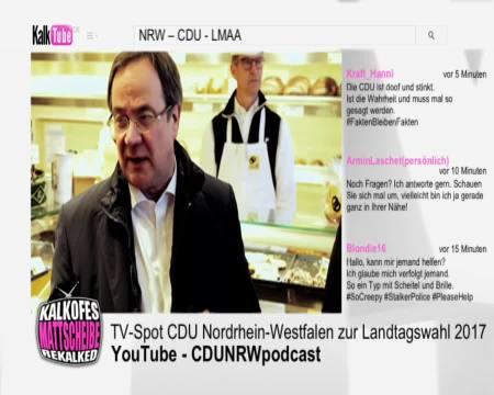 Armin Laschet - Wahlwerbung CDU NRW