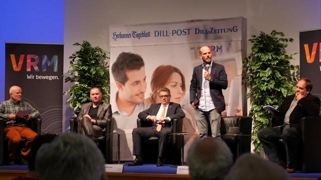 Dillenburger Bürgermeisterkandidaten präsentieren sich