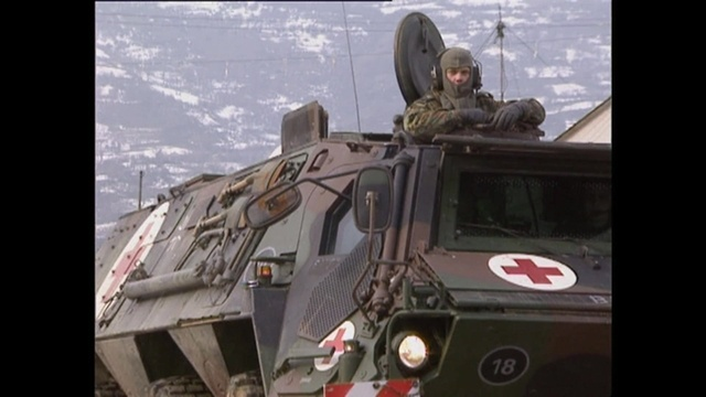 Training für den Kosovo-Einsatz