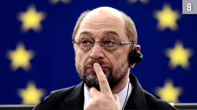Schulz Abschied aus Brüssel