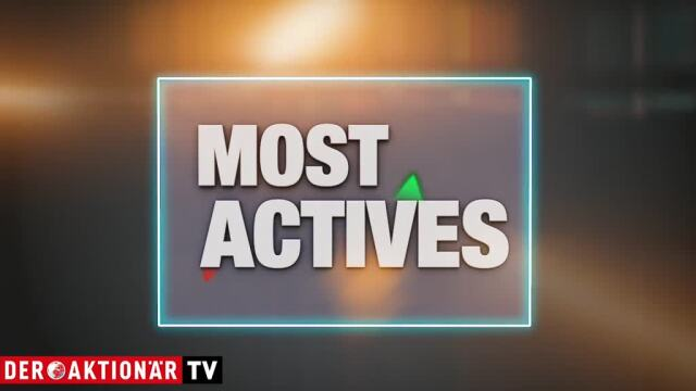 Most Actives: Evotec, Infineon, Deutsche Post