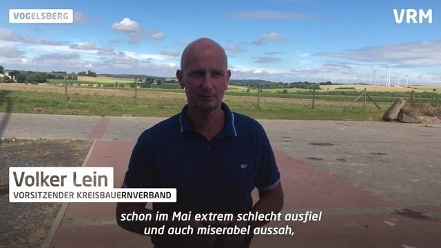 Kreisbauernverband: Volker Lein im Erntegespräch