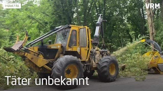 Mühltal: Unbekannte haben 400 Liter Altöl abgekippt