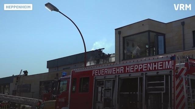 Heppenheim: Viniversum nach Brand stark beschädigt