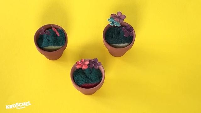 Mach mit: Blumen aus Nagellack