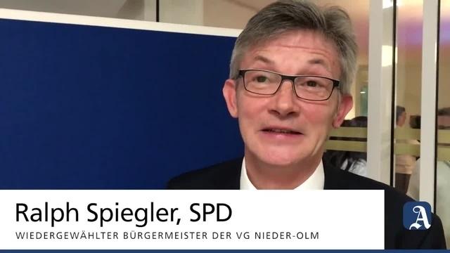 VG Nieder-Olm: Ralph Spiegler bleibt VG-Bürgermeister