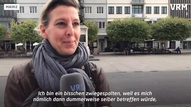 Umfrage zum Dieselfahrverbot in Mainz