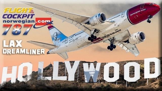 Im Dreamliner von Los Angeles nach Oslo