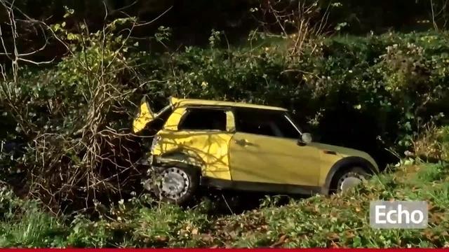 Schwerer Verkehrsunfall auf der B 45 bei Höchst