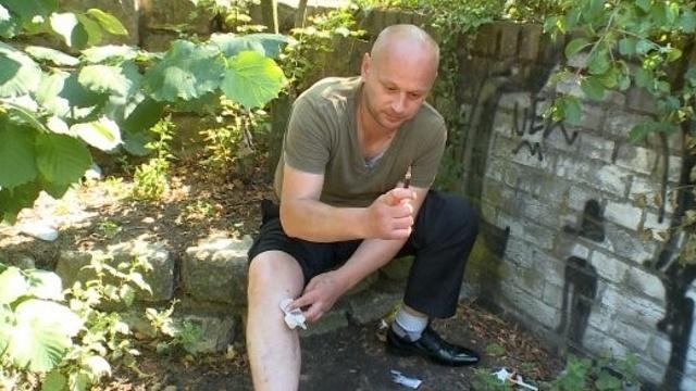 Russische Drogenabhängige am Kottbusser Tor
