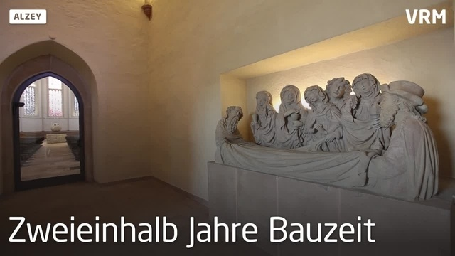 Sanierte Nikolaikirche in Alzey wieder geöffnet