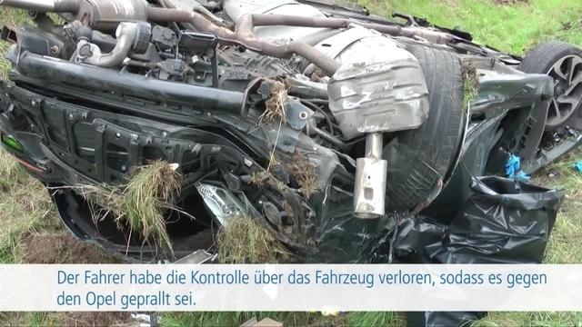Schwerer Unfall auf der A45 bei Herborn