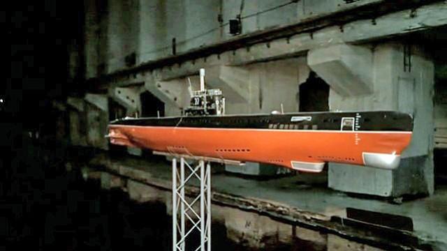 Unterirdischer U-Boot-Bunker
