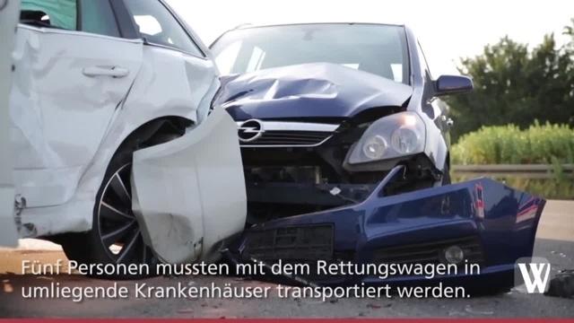 Wallau: Unfall auf der A66