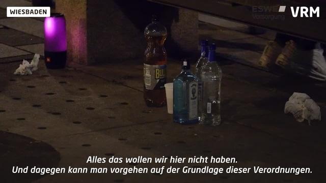 Waffenverbotszone in Wiesbaden