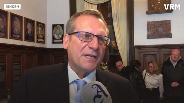 Bingen: Thomas Feser im Amt bestätigt