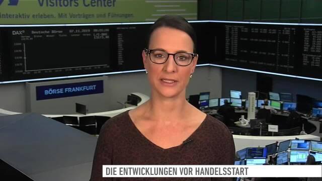Dow Jones, DAX, Alibaba, Adidas, Telekom, Lufthansa, Munich Re, Scout24, Nel - Marktüberblick