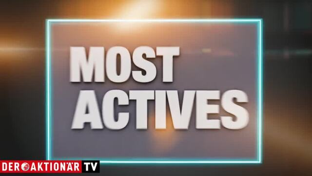 Most Actives: Carl Zeiss, Kion und Plug Power