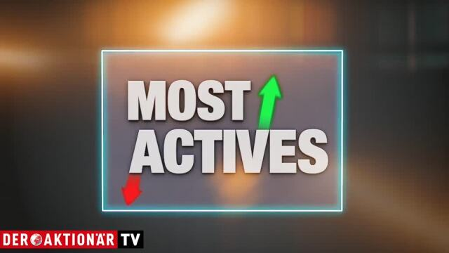 Most Actives: Evotec, Commerzbank, Bayer