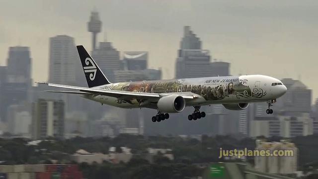 Planespotting in Sydney
