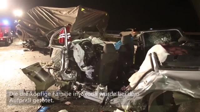 Rüsselsheim: Drei Tote bei Unfall durch Geisterfahrer