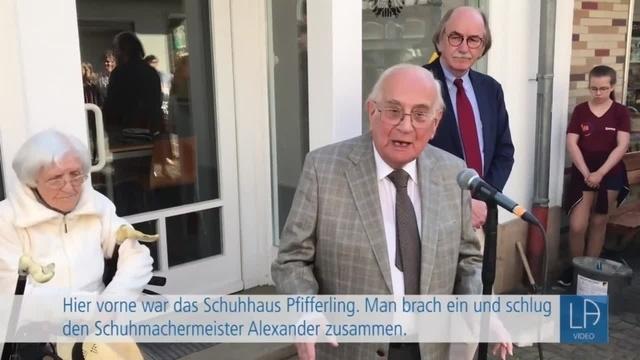 Stolpersteine in Lauterbach verlegt