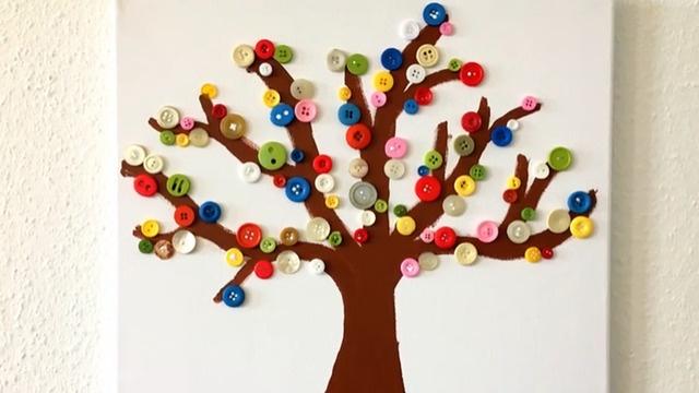 Mach mit: Bunter Herbstbaum