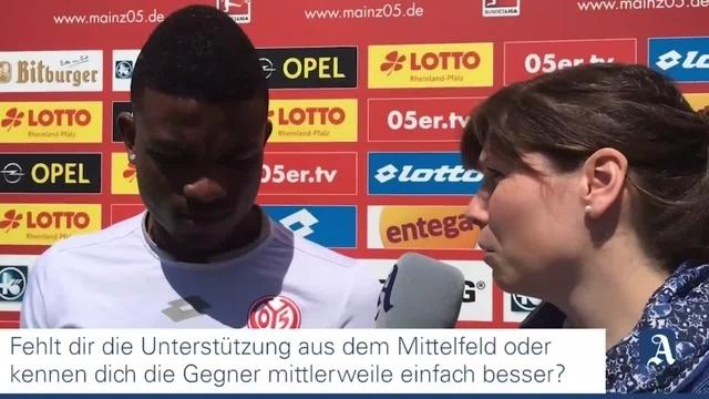 Mainz 05: Jhon Cordoba im Interview