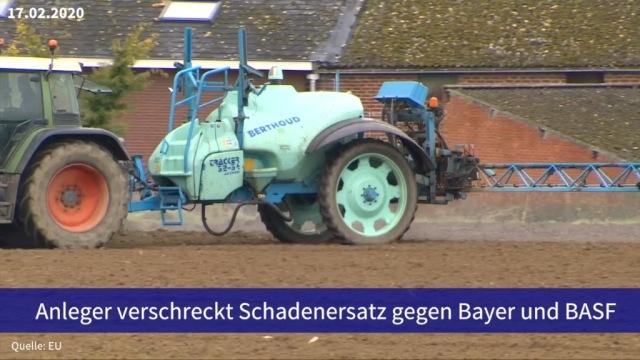 Aktie im Fokus: Anleger verschreckt Schadenersatz gegen Bayer und BASF