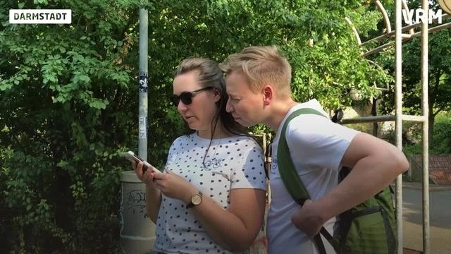 Smartphone-Schnitzeljagd durch Darmstadt