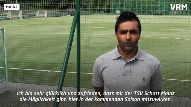 Ein Olympionike für das Mainzer Hockey