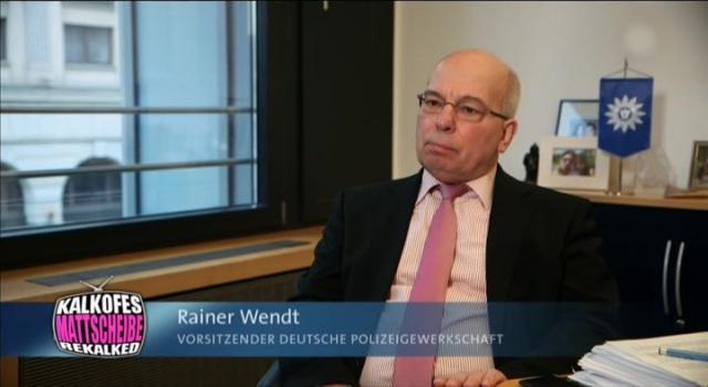Die Nebentätigkeit von Polizeigewerkschafter Rainer Wendt