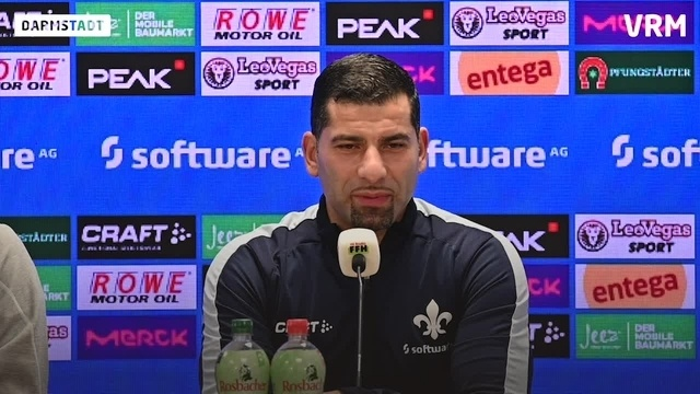 Pressekonferenz zum Spiel gegen den SV Wehen Wiesbaden