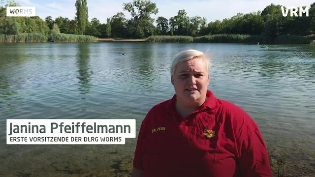 DLRG: Baden im Wormser Rhein ist gefährlich
