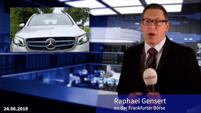 Neue Gewinnwarnung bei Daimler katapultiert Aktie ans Dax-Ende