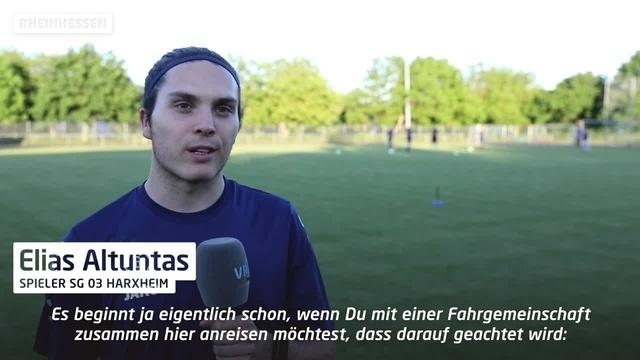Amateurfußballer nehmen Trainingsbetrieb wieder auf