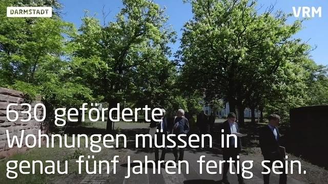 Neues Ludwigshöhviertel entsteht in Darmstadt