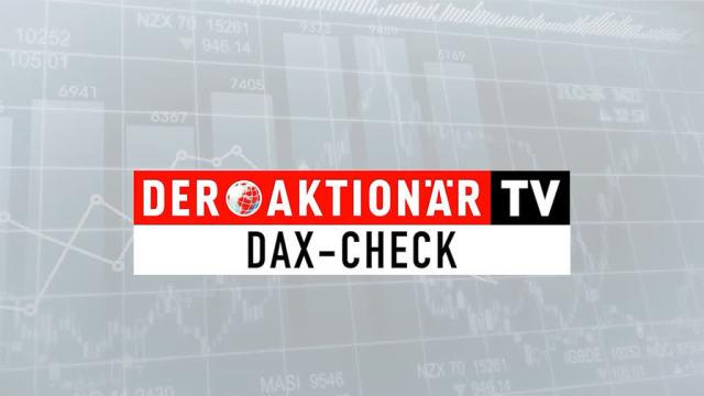 DAX-Check: Über dieser Marke sollte sich der DAX nun halten...