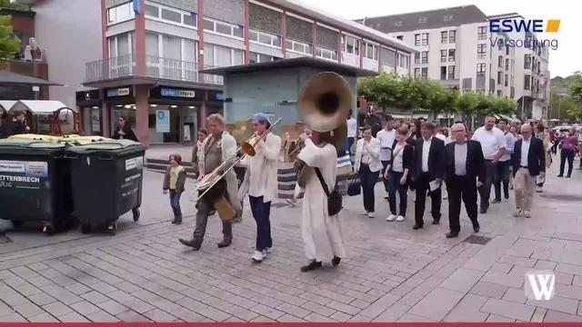 Wiesbaden: Abrahamsweg feiert Premiere