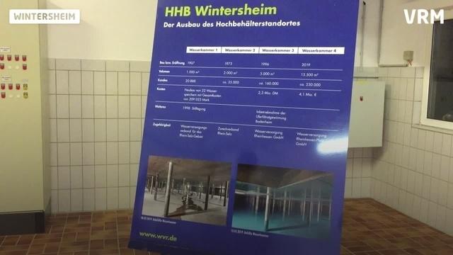 Wintersheim: wvr weiht neuen Wasserbehälter ein