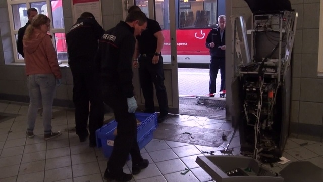 Geldautomat in Dillenburg gesprengt