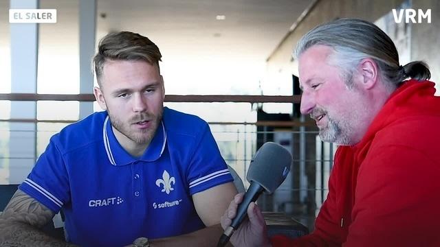 Interview mit Lilien-Spieler Marcel Franke
