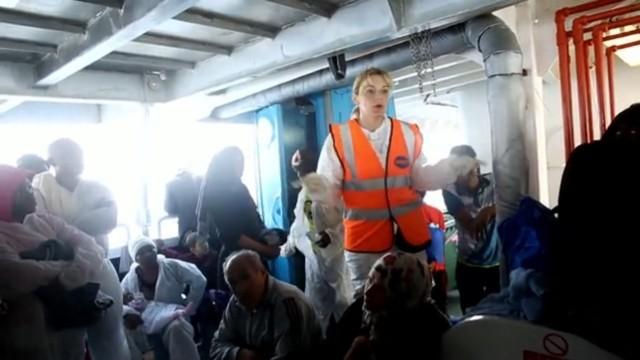 Flüchtlingsretter im Mittelmeer