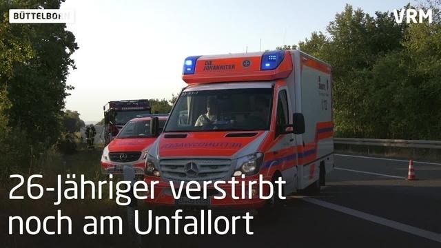 Autofahrer stirbt bei Unfall auf A67 bei Büttelborn