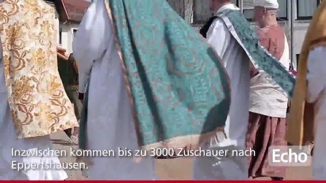 Eppertshausen: Passionsspiele an Karfreitag
