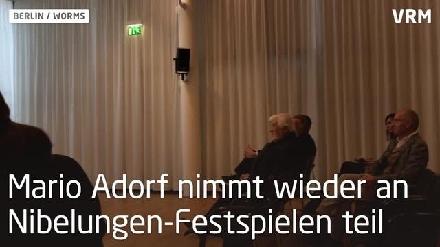 Mario Adorf tritt wieder bei Nibelungen-Festspielen auf