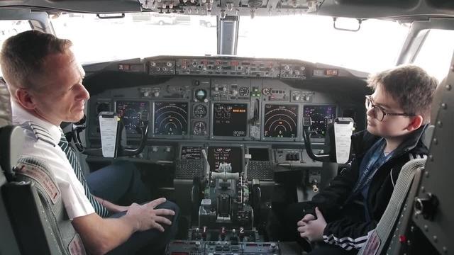Monsterschlau: Was macht ein Pilot?