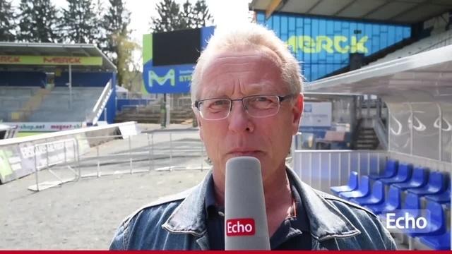Jens Wannemacher vor dem Spiel der Lilien gegen Leverkusen