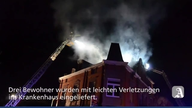 Wohnhausbrand in Bad Kreuznach